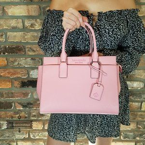 Kate Spade Medium Cameron Satchel Carnation Pink